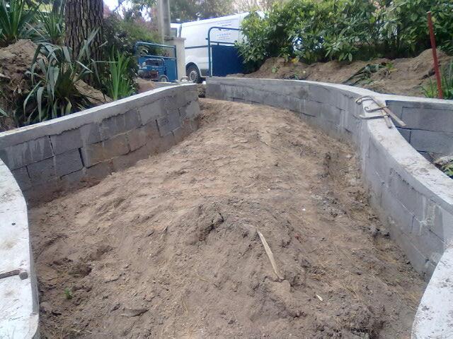 Travaux murs murets cl tures r novation habitat la baule gu rande st nazaire - Cloture jardin en beton orleans ...